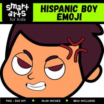 Hispanic Boy Emoji Clip Art