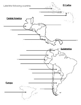 Hispanic Countries & Capitals Test