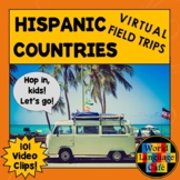 Hispanic Countries Video Clips for Spanish Speaking Countries