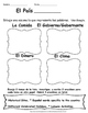 All Hispanic Countries Worksheets for Spanish Class All Levels