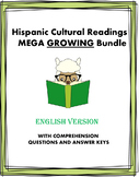 Hispanic Culture: 74+ Readings MEGA Bundle @50% 0FF! (English Version) GROWING