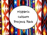Hispanic Culture Project Pack for Spanish Class- Fun, Fun, Fun!