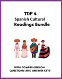Lectura y Cultura: Spanish Cultural Reading Bundle: 5 Readings @40% 0ff!