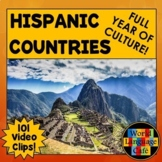 Spanish Speaking Countries Lesson Plans, Maps, Flags, Vide