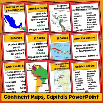 Spanish Speaking Countries Lesson Plans, Maps, Flags, Videos, Photos, Capitals