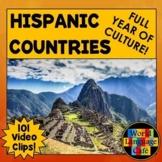 Spanish Speaking Countries, Hispanic Countries, Hispanic H