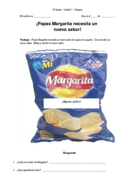 Hispanic Food Products - Los Nuevos Sabores de Papas Margarita - Free Download