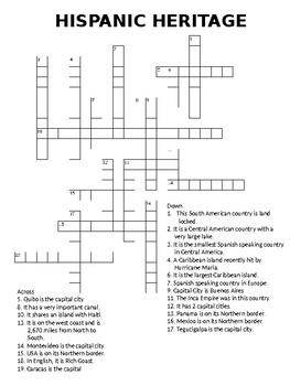 Hispanic Heritage (2 Puzzles)