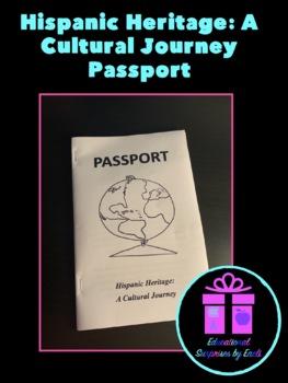 Hispanic Heritage: A Cultural Journey Passport