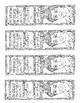 Hispanic Heritage Bookmarks (set of 4 unique designs)