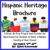 Hispanic Heritage Brochure Enrichment Writing Project