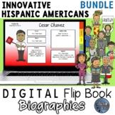 Hispanic Heritage Digital Biography Template Bundle
