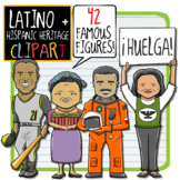 Hispanic Heritage + Latino Leaders Clip Art