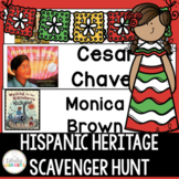 Hispanic Heritage Library Scavenger Hunt