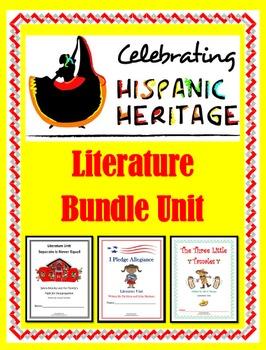 Hispanic Heritage Month Literature Unit Bundle