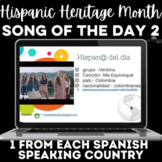 Hispanic Heritage Month: 1 song from each country! #2 2017