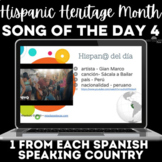Hispanic Heritage Month: 1 song from each country! #4 2019