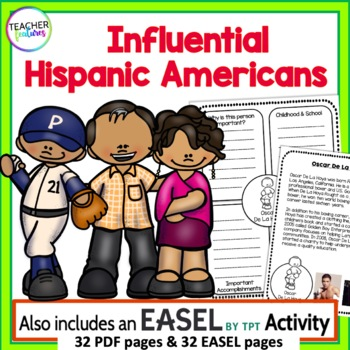 HISPANIC HERITAGE MONTH Guided Research & Close Read Biographies