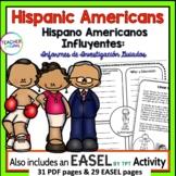 Hispanic Heritage Month Activities | en espanol | Research Project Template