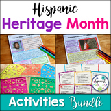 Hispanic Heritage Month Projects and Activities Bundle