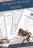 Hispanic Heritage Month | Activities + Videos + Song