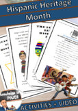 Hispanic Heritage Month | Activities + Videos + Song | For