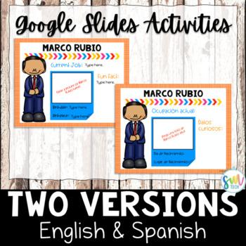 Hispanic Heritage Month Activities for Google Classroom