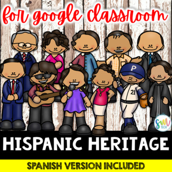 DISTANCE LEARNING: Hispanic Heritage Month Activities for Google Classroom