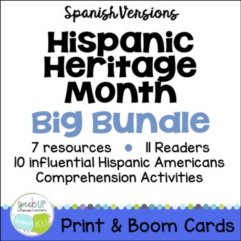 Hispanic Heritage Month BIG Bundle {Spanish version}