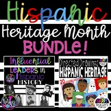 Hispanic Heritage Month BUNDLE - Influential Leaders & Directed Drawings