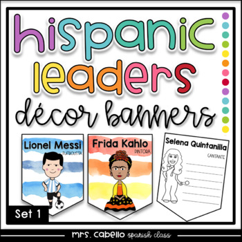 Hispanic Heritage Month Banners Set 1