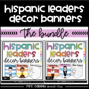 Hispanic Heritage Month Banners Bundle
