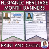 Hispanic Heritage Month Banners: Mini-Research Project