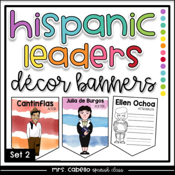 Hispanic Heritage Month Banners Set 2