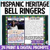 Hispanic Heritage Month Bell Ringers