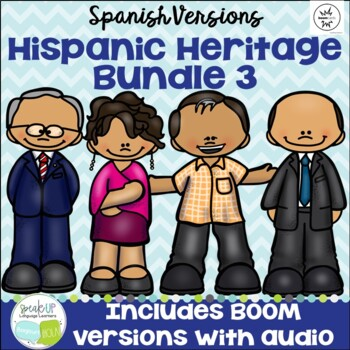 Hispanic Heritage Month Bundle #3 {Spanish version}
