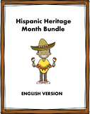 Hispanic Heritage Month Reading Bundle at 35% off! 6 Readings! (English Version)