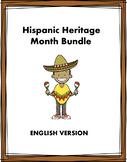 Hispanic Heritage Month Bundle: Top 5 Resources at 35% off!! (English Version)