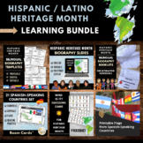 Hispanic Heritage Month Bundle for Mes de la Herencia Hispana