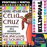 Hispanic Heritage Month - Celia Cruz - Worksheets and Read