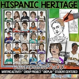 Hispanic Heritage Month, Collaborative Poster, and Writing