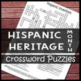 Hispanic Heritage Month Crossword Puzzles