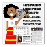 Hispanic Heritage Month: Daily Morning Work and One Pager