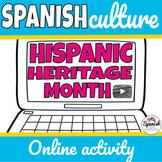 Hispanic Heritage Month Digital and Printable Hybrid Activity