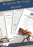 Hispanic Heritage Month | English + Spanish | Activities +