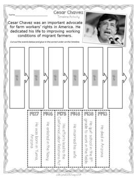 Hispanic Heritage Month FREEBIE - Cesar Chavez