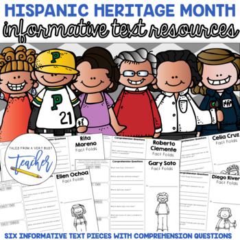 Hispanic Heritage Month {Fact Folds}