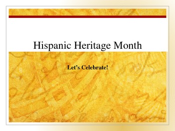 hispanic heritage month famous hispanic americans power point tpt