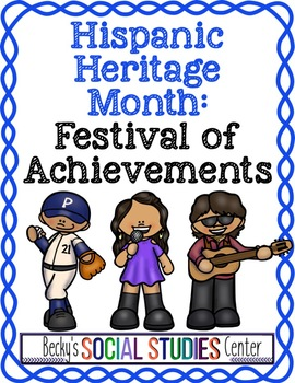 Hispanic Heritage Month - Festival Brochure of Achievements