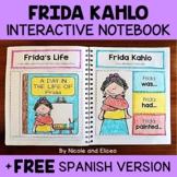 Frida Kahlo Interactive Notebook Activities